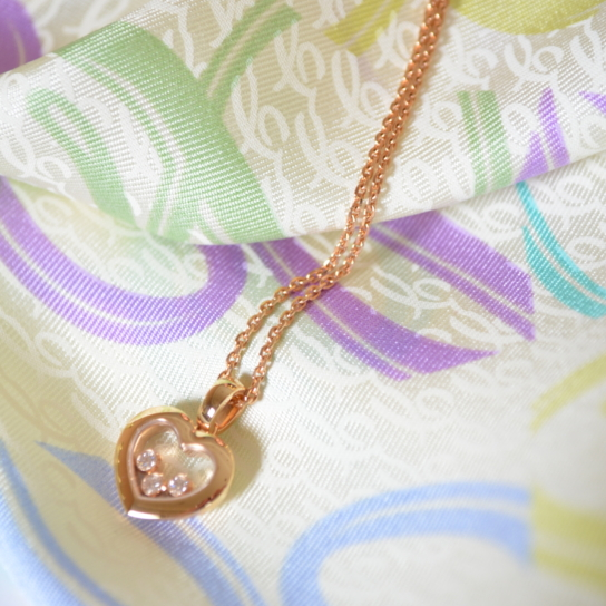 Chopard collier coeur